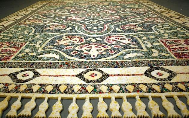 Carpet padding rug