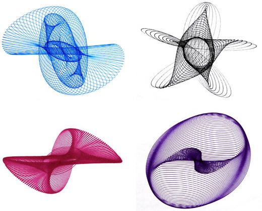 How-To:  Make a three-pendulum rotary harmonograph