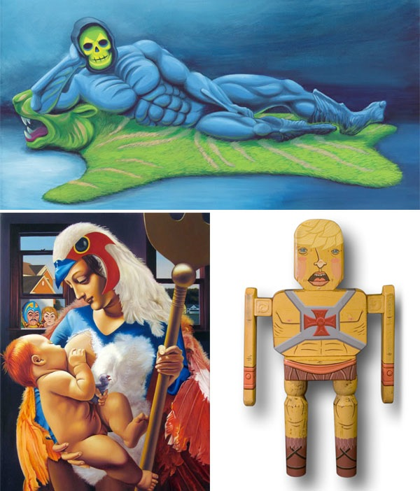 Masters of the Universe tribute art show