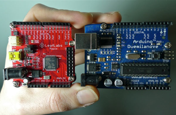 Arduino vs. Maple – early impressions