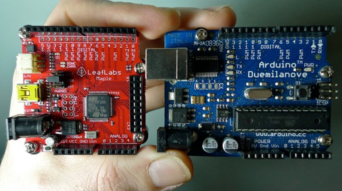 Arduino vs  Maple - early impressions | Make: