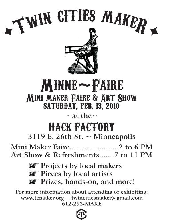 Minne-Faire: a Twin Cities mini Maker Faire