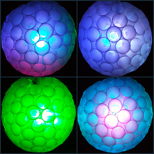 DIY New Year's Eve LED ball