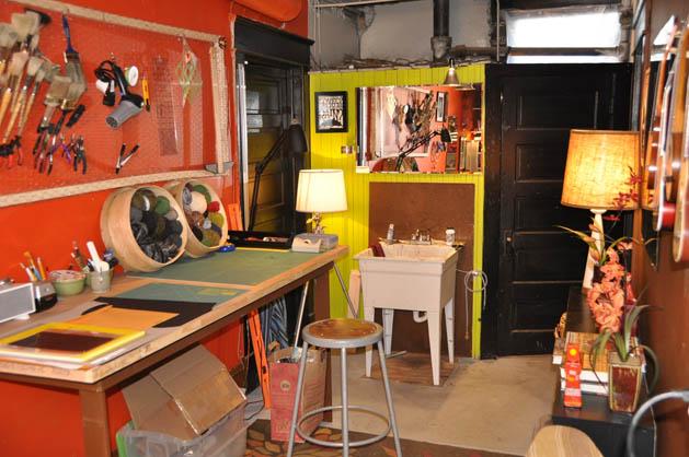 Paul Overton's craft space