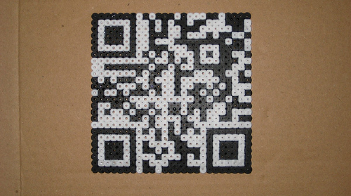 Perler bead QR codes | Make: