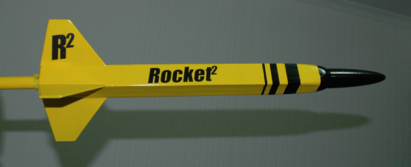 Square rockets? Why not?