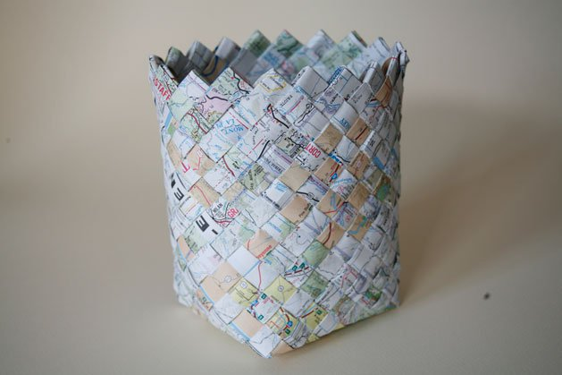 Weave a Road Map Basket