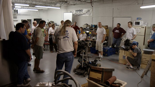 Dallas makers organizing a hackerspace