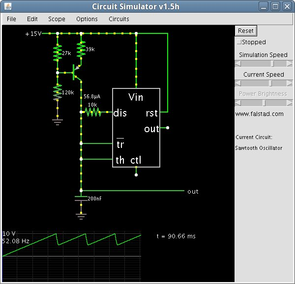 cool java based circuit simulator make rh makezine com