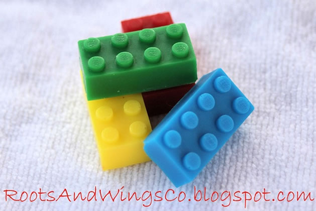 How-To: Lego soap from urethane mold