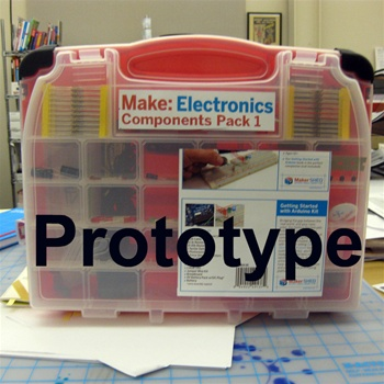 Make: Electronics kits for pre-order in the Shed