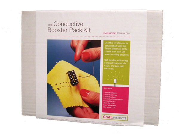 In the Maker Shed: Conductive booster pack