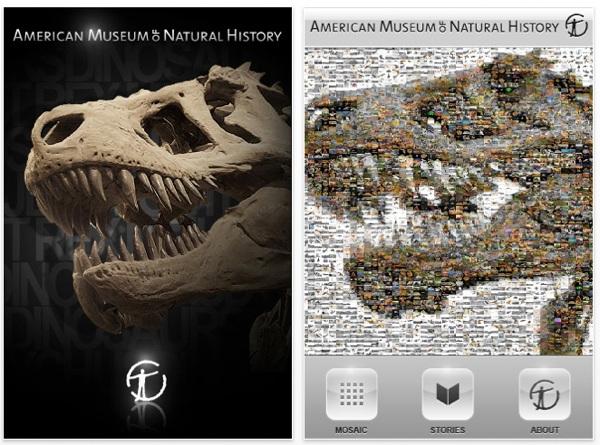 American Museum of Natural History dinosaur app