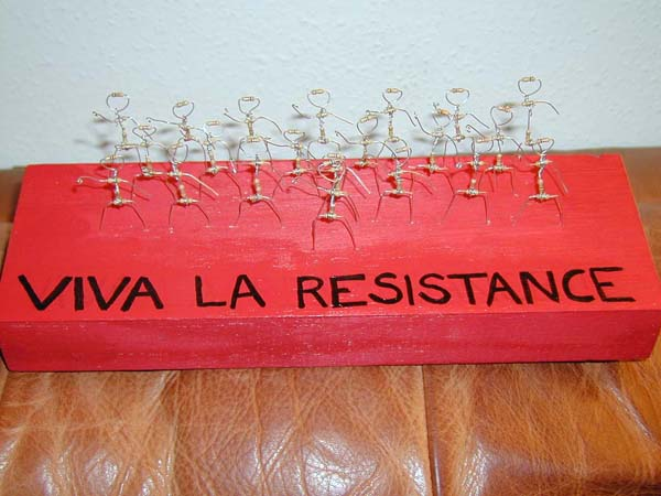 Not that kind of resistance