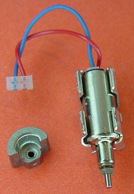 Removing eccentric weights from pager motors