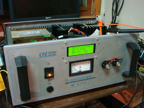 Building a spot welder from a battery charger
