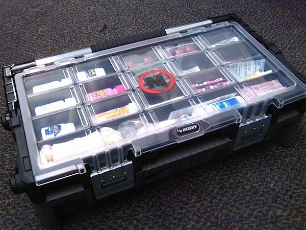 Ultimate film set first aid kit