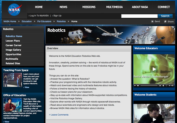STS-131 mission brings robotics outreach to teachers, students