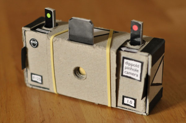 Print-your-own 35mm pinhole camera