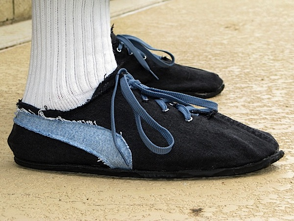 How-To: Car tires to running shoes