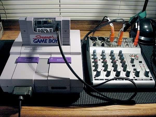 How-To: SNES Super Gameboy line out audio
