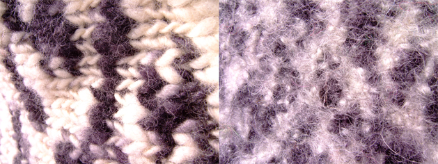 """How-To: """"Full"""" a Sweater into Felt"""