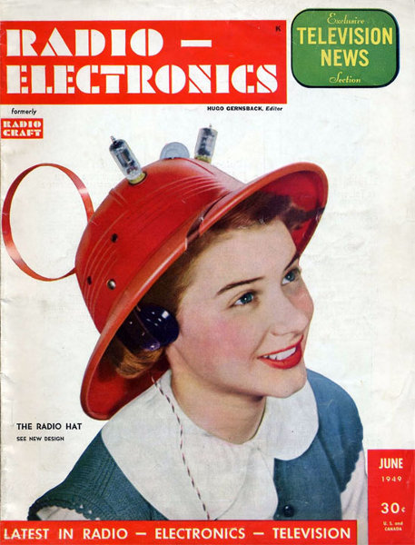 Vacuum Tube Radio Hat
