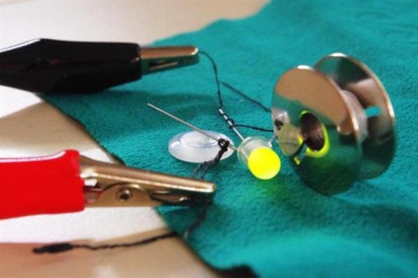 Solar dress uses nanotech-based conductive thread
