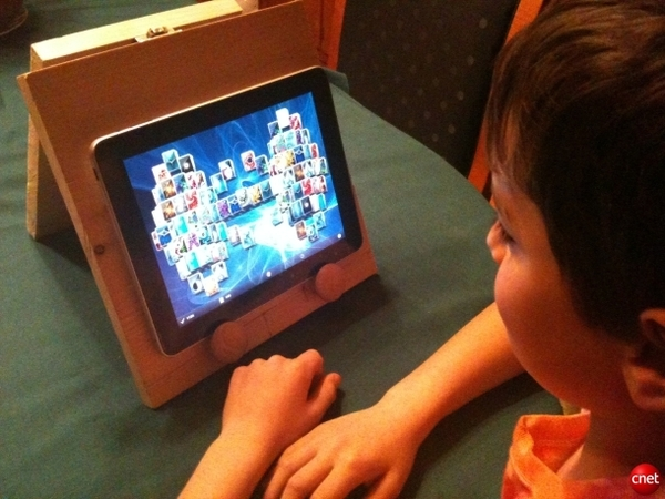 DIY iPad stand for .40