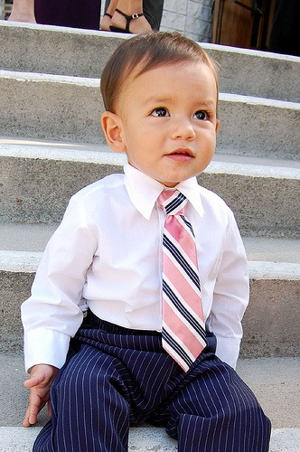 How-To: Boy's Tie from Man's Tie