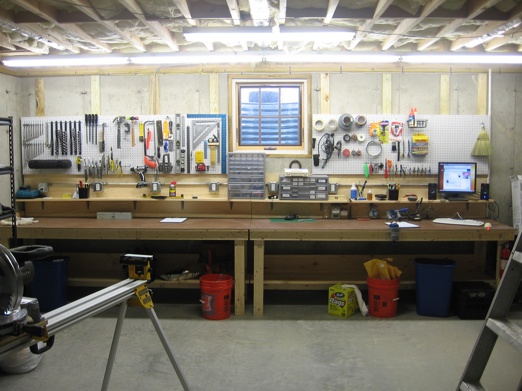 Dual-purpose workbench