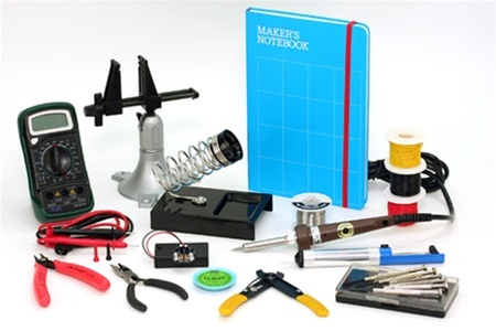 Back in stock: Make: Electronics toolkit