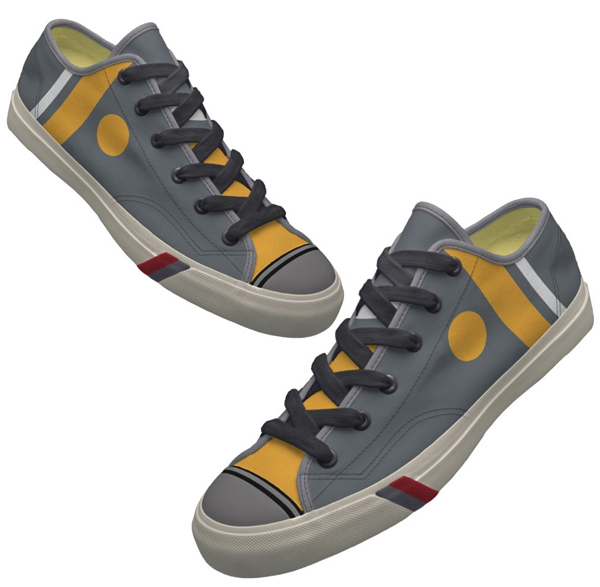 Geek Chic: Design-it-yourself shoes