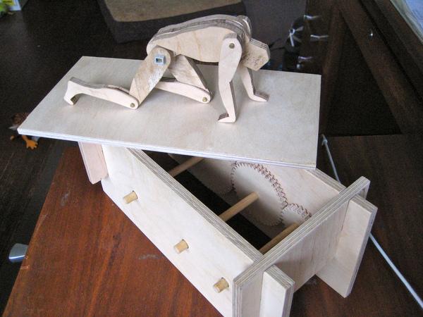 Sisyphean Automaton
