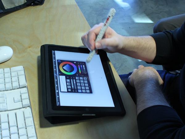 DIY Soft iPhone and iPad Stylus