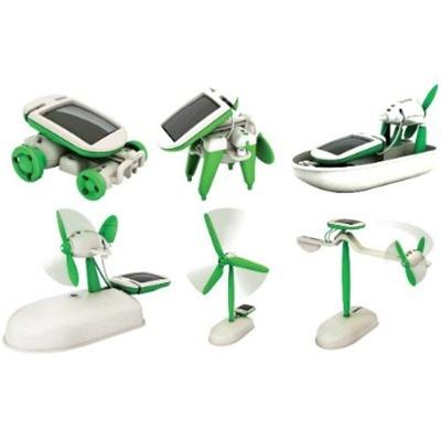 In the Maker Shed: 6-in-1 Solar Robotic kit