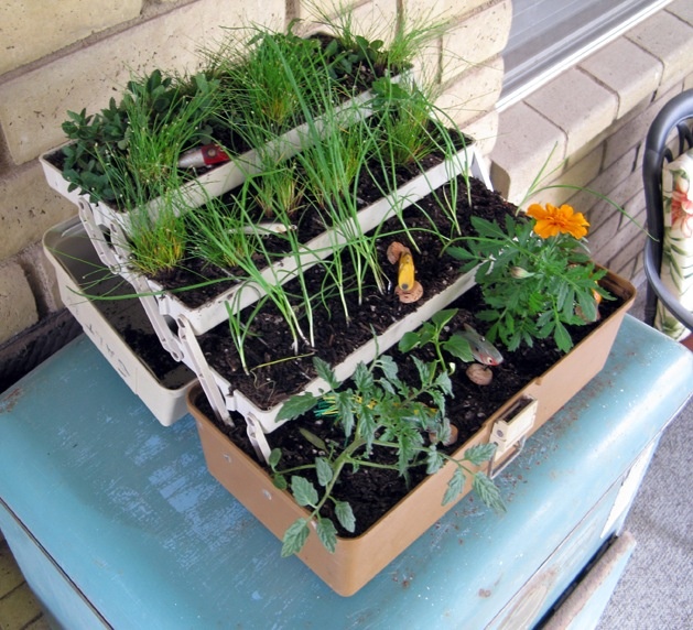 How-To: Tackle Box Planter