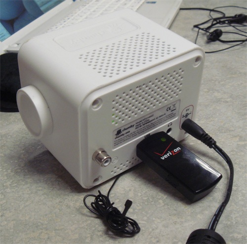 Make your own 3G router (with a  Chumby)