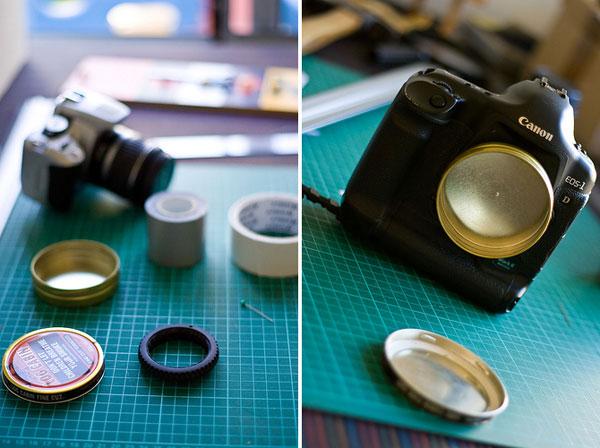DSLR pinhole lens
