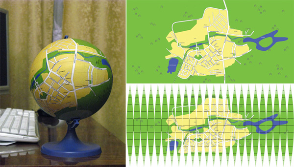 "Strange Russian ""local globe"" DIY phenomenon"