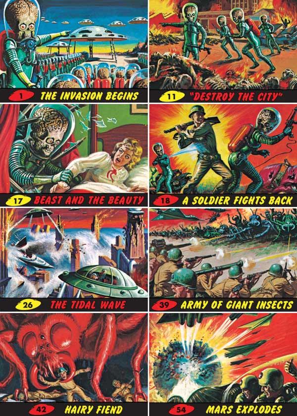 Original Mars Attacks art in Makers Market