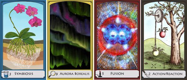 Science-themed Tarot deck