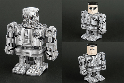 Papercraft robots gallery