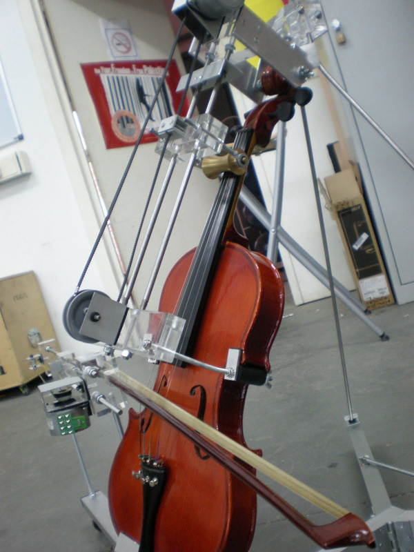 Self-playing musical instruments