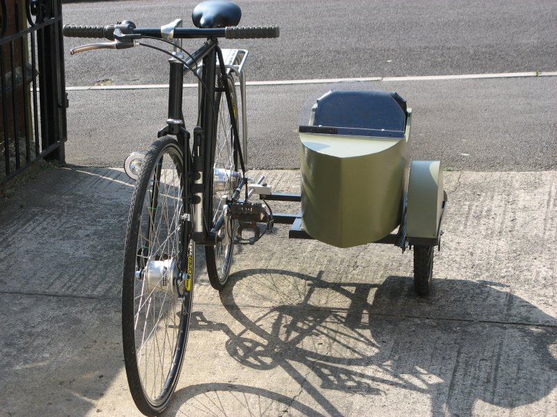 How-To:  Build a bicycle sidecar