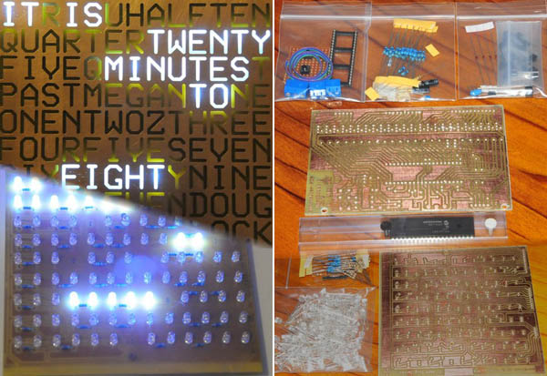 Kits & Kitmakers: Doug Jackson's DIY Word Clock