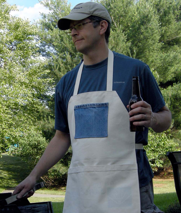 How-To: Father's Day Apron from Tote Bag