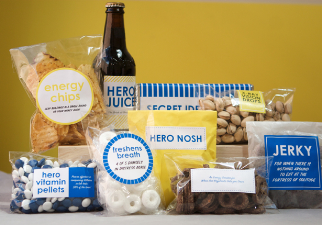 Father's Day Superhero Gift Box