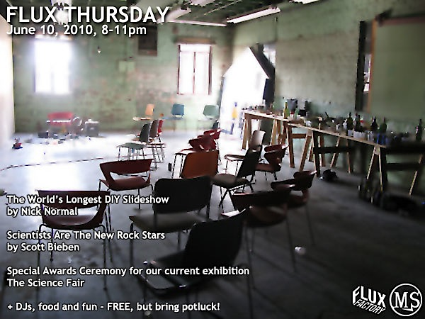 Flux Thursday in NYC