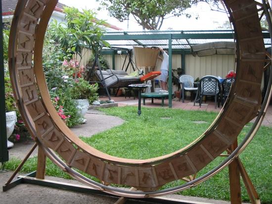 Incredible homemade Stargate